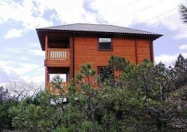 Деревянные домики - Крым  Форос  Аппартаменты в коттедже+